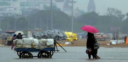 Regional Meteorological center announce rain for 8 District in Tamilnadu