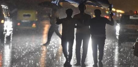Delhi Heavy rain 4 June 2020 Mid night