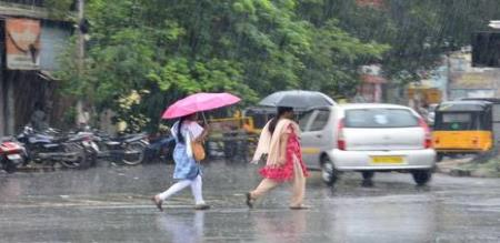 tomorrow  (02-12-19) school college leave districts for rain