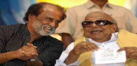 karunanidhi about rajinikanth