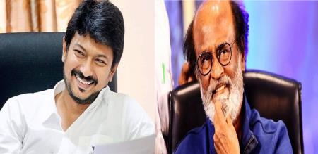 Rajinikanth twit comment by Udhayanidhi Stalin Rajinikanth fans got angry