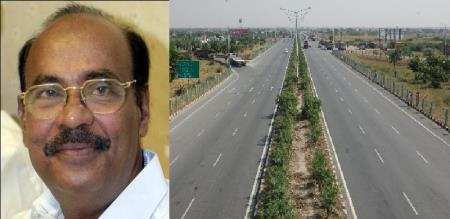 dr ramadoss welcomes of extension of eight way road tambaram dindivanam highway