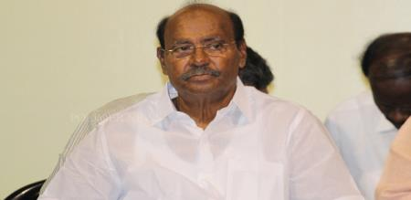 dr ramadoss report about RK singh announce electric problem
