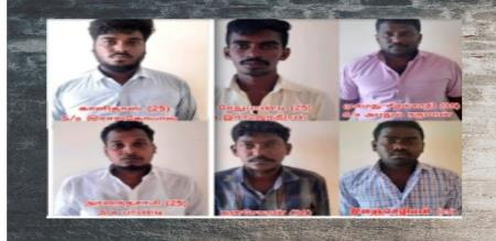 Ramanathapuram sexual abuse gang arrest by police