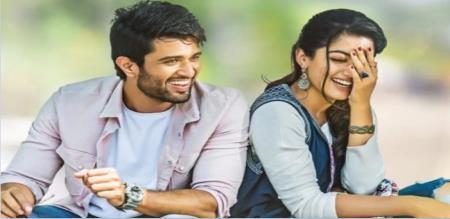 rashmika says about vijay