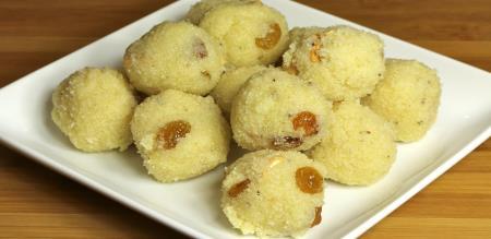 Rava laddu recipe in tamil