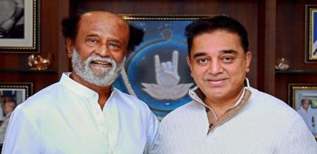 rajini and kamal alliance in politics