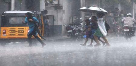 next two days rain in 14 districts
