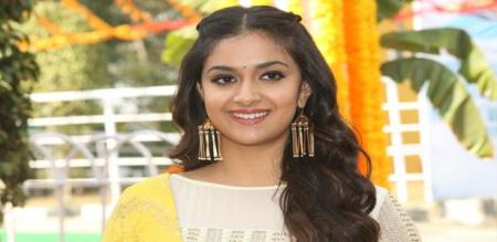actress keerthi suresh in 20th movie