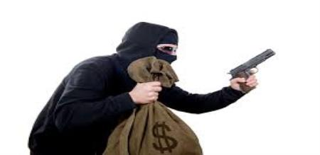 gold and money robbery in shop