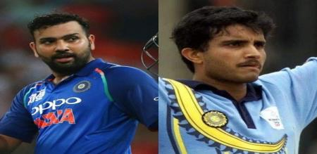 BCCI president ganguly wishes to rohit sharma for 100th T20 match