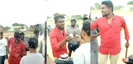 in thoothukudi rowdy birthday celebration police search for slip in bathroom