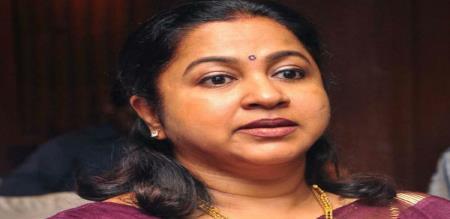radhika sartahkumar tweet about meeting with vishal