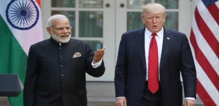 india rejects trump request