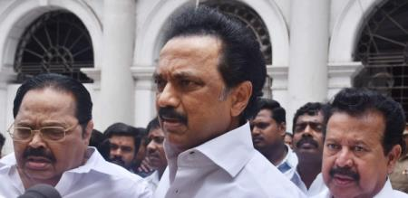 mutharasan meet with mk stalin