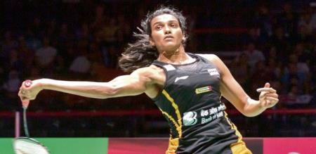 pv sindhu challenge to minister and sports man