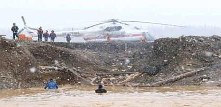 In Russia dam collapsed 15 peoples died