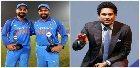 rohit crossed sachin world cup record history