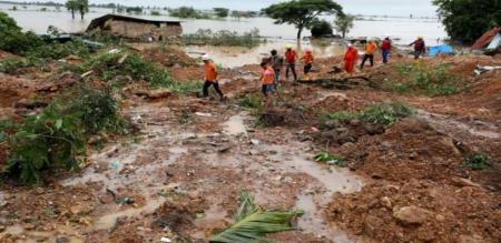 60 death due to land slide
