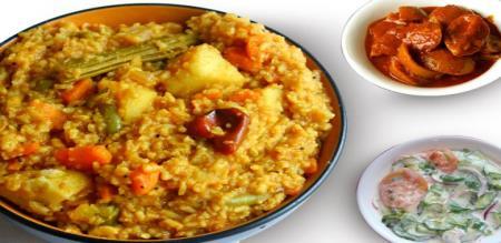 how to prepare sambar rice