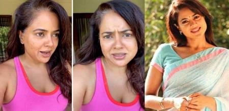 Actress Sameera reddy speech about Her White Hair