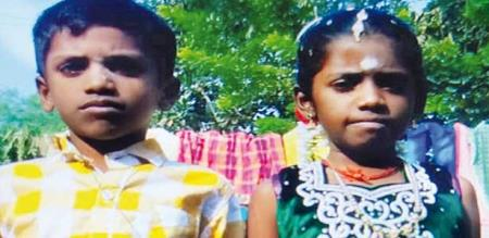Ariyalur Sendurai bother and sister died in pool