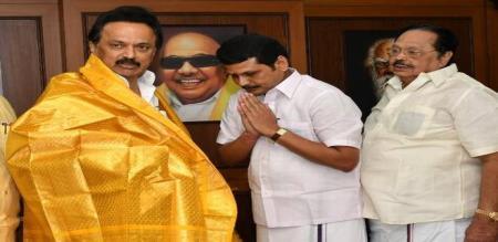 senthil balaji speech about admk MLA wants to join DMK party