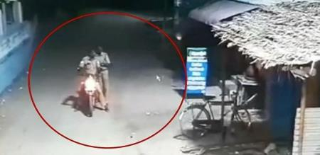 police theft water glass in pudukottai
