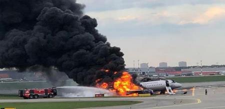 flight servant dead in flight fireaccident