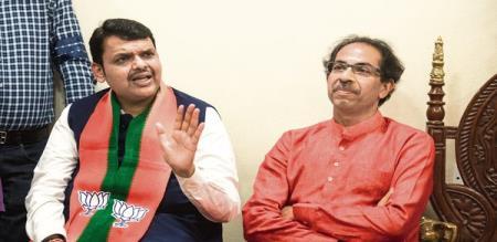 in maharastra alliance problem