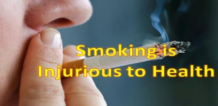 when you have smoke habit you will loss your life