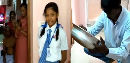 in kerala child wear shoe in snake video trending awareness