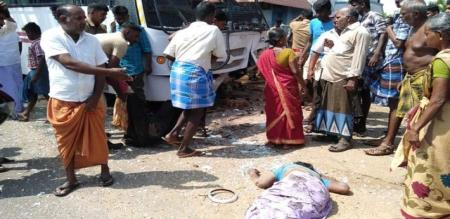 in thirunelveli bus accident woman died police investigation going on