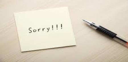 prime minister says sorry