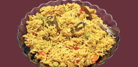 How to make soya Briyani
