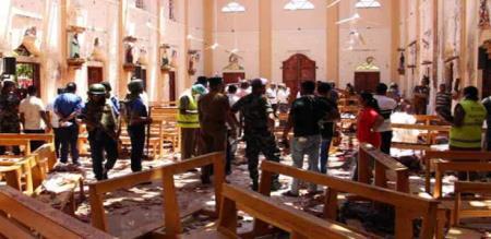 in srilankan bomb blast investigation about terrorists