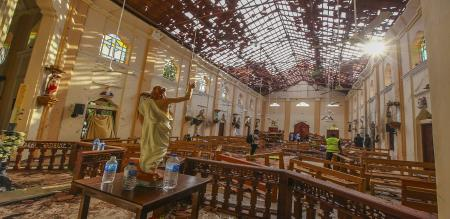 photos before bompblast in srilanka church