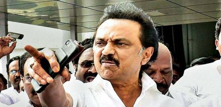 stalin angry with admk