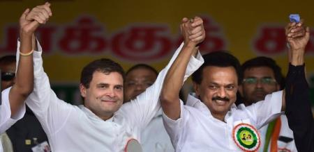 dmk with exit poll results