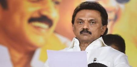 MK stalin speech about retirement of senior IAS officer santhosh babu