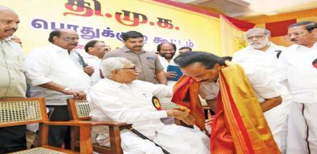 DMK District Secretary Changed in Thiruvannamalai north district