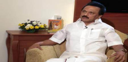stalin tweet about state election commission secretary changed