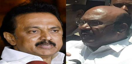 Stalin questioned minister jayakumar handover letter to central ministers in Delhi