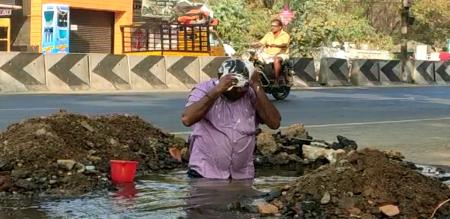 thiruppur collector says about water issue
