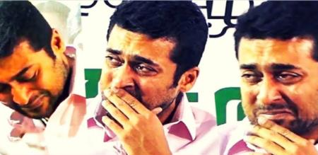 actor surya emotion on agaram foundation student speech
