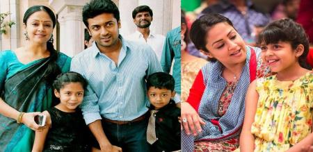 surya jothika latest family pic