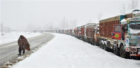 tamilnadu lorry drivers in kashmir without food