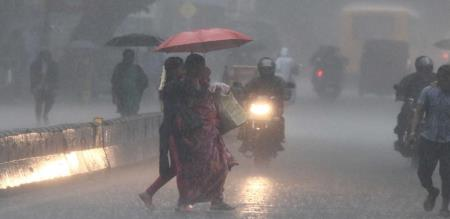 in tamilnadu 12 districts have rain