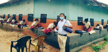 Jharkhand Teacher School Students