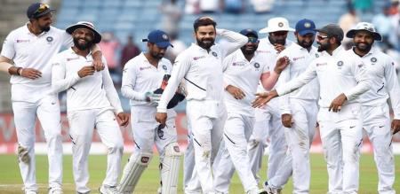 not only in test match india play bold in south africa also